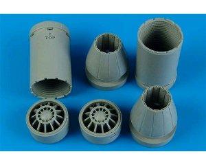 F/A-18E/F exhaust nozzles - closed  (Vista 1)