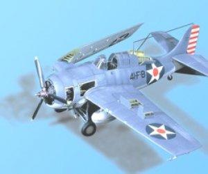 F4F-4 WILDCAT detail set - TAMIYA  (Vista 1)