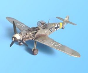 Messerschmitt Bf 109G-6 detail set – Ha