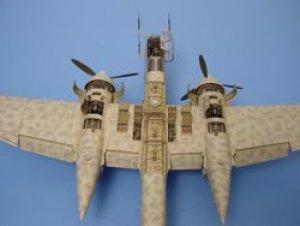 Heinkel He 219A-7 gun bay - TAMIYA  (Vista 1)