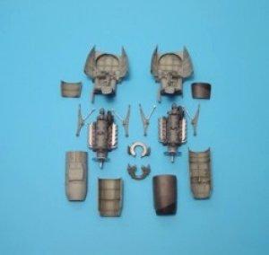 Me 410A1 detail engine set - Monogram  (Vista 1)