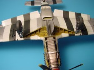 P-51B/C MUSTANG wheel bay - TAMIYA