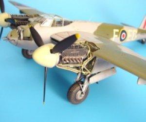Mosquito FB Mk.VI engine set – Tamiya  (Vista 1)