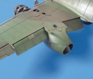 Me 262 flaps – Tamiya  (Vista 1)