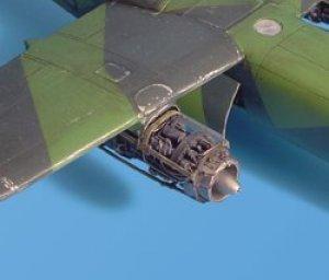 Ar 234B detail engine set – Hasegawa  (Vista 1)