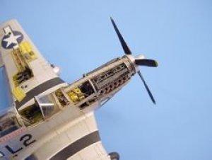 P-51D Mustang detail engine set - Tamiya  (Vista 1)