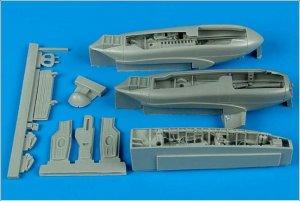 A-10A Thunderbolt II wheel bay - ITALERI  (Vista 1)