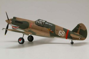 Curtiss Hawk 81-A-2   (Vista 3)