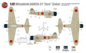 Mitsubishi A6M2b Zero  (Vista 2)