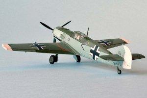 Messerschmitt BF109E  (Vista 3)