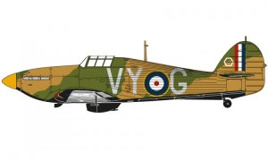 Hawker Hurricane MK1  (Vista 5)