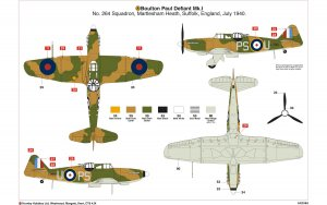 Boulton Paul Defiant Mk.1  (Vista 2)