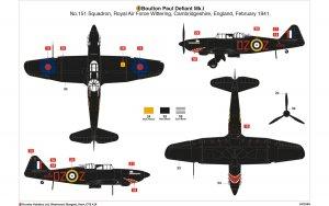 Boulton Paul Defiant Mk.1  (Vista 3)