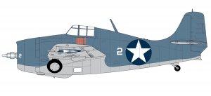 Grumman F4F-4 Wildcat   (Vista 3)