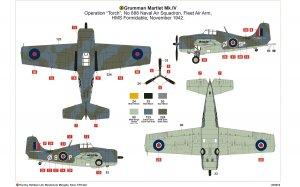 Grumman Martlet Mk.IV  (Vista 3)