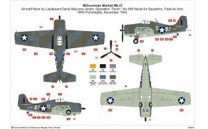 Grumman Martlet Mk.IV  (Vista 4)