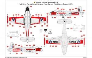 Hunting Percival Jet Provost T.3/T.3a  (Vista 6)