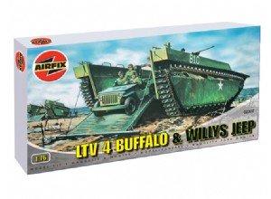 Buffalo Amphibian and Jeep   (Vista 1)