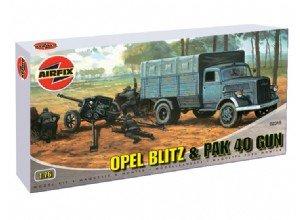 Opel Blitz and Pak 40   (Vista 1)