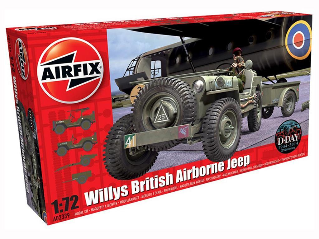 Willys British Airborne Jeep  (Vista 1)