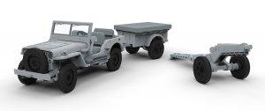 Willys British Airborne Jeep  (Vista 2)