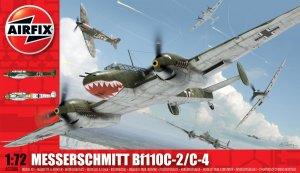 Messerschmitt Bf110C/D  (Vista 1)