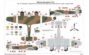 Bristol Beaufighter Mk.X  (Vista 3)