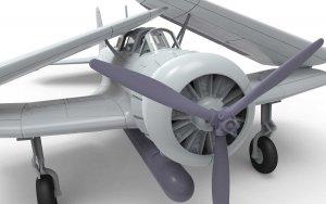 Nakajima B5N1 Kate  (Vista 3)