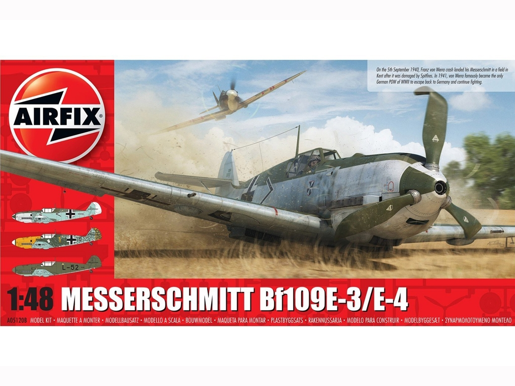Messerschmitt Bf109E-3/E-4  (Vista 1)