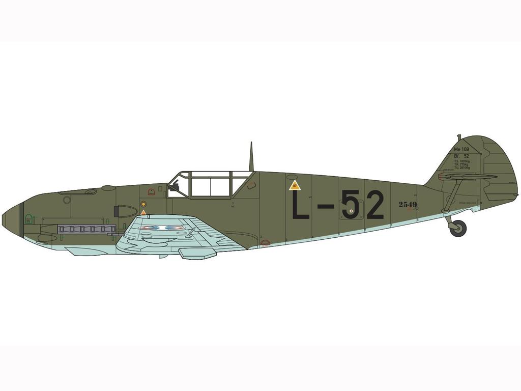 Messerschmitt Bf109E-3/E-4  (Vista 4)