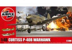 Curtiss P-40B Warhawk  (Vista 1)