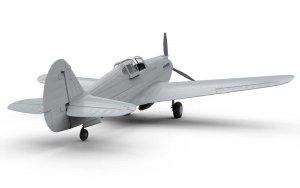 Curtiss P-40B Warhawk  (Vista 3)