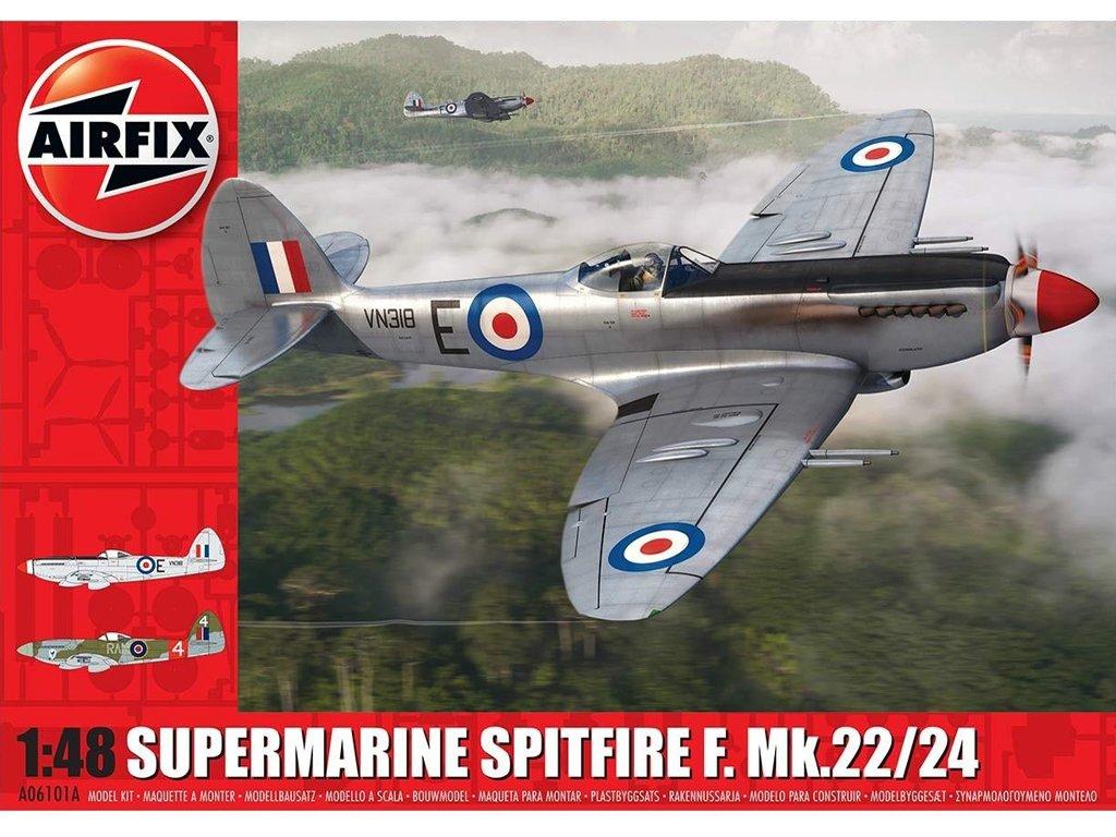 Supermarine Spitfire F.Mk.22/24  (Vista 1)