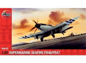 Supermarine Seafire FR46/FR47  (Vista 1)