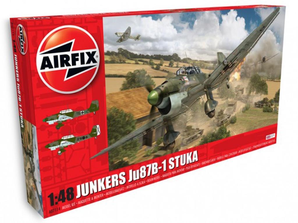 Junkers Ju87B-1 Stuka  (Vista 1)