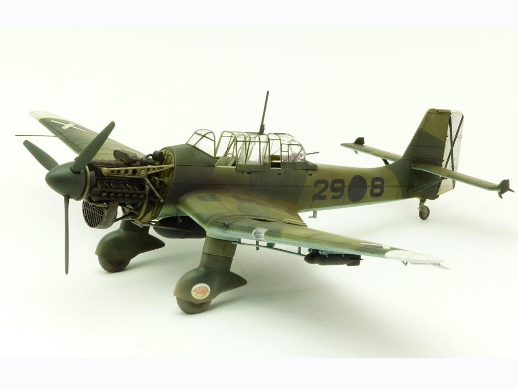 Junkers Ju87B-1 Stuka  (Vista 2)