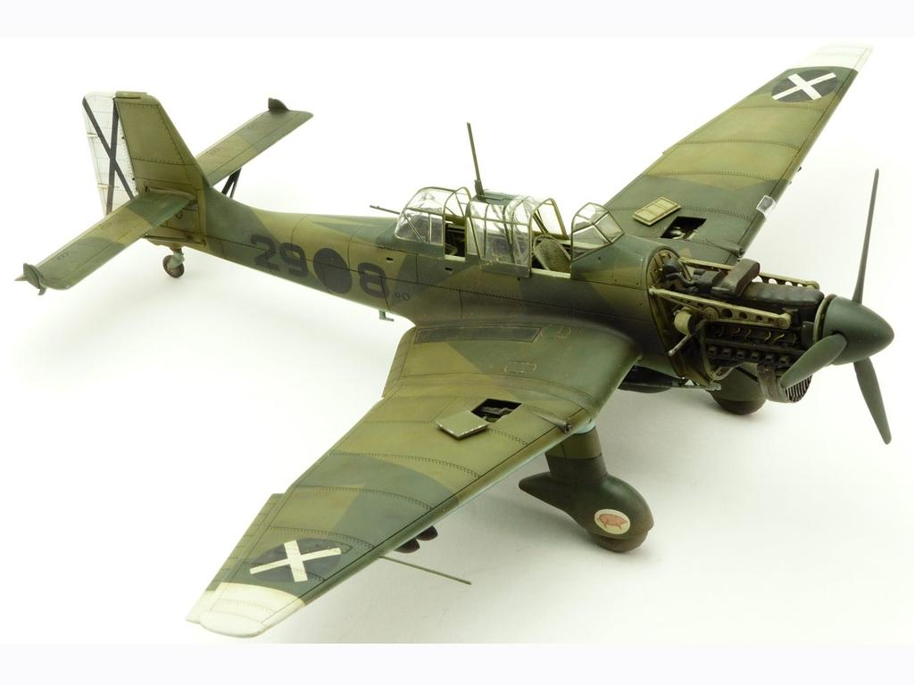 Junkers Ju87B-1 Stuka  (Vista 3)