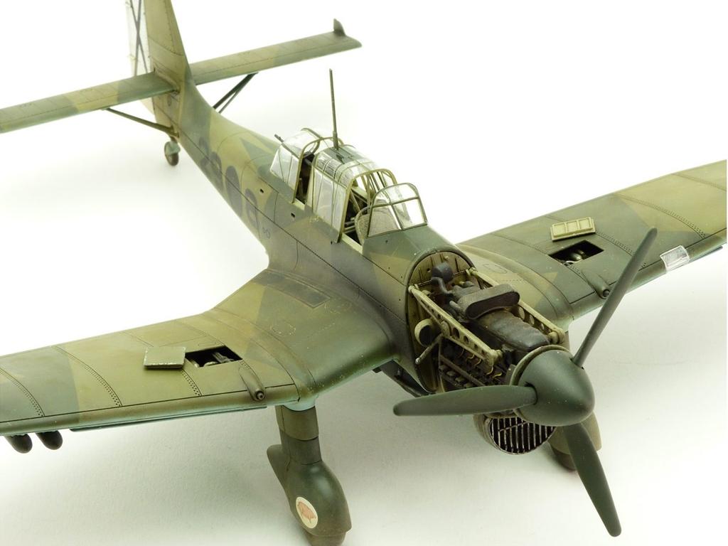 Junkers Ju87B-1 Stuka  (Vista 4)