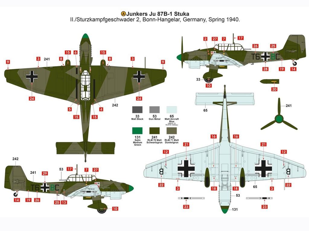 Junkers Ju87B-1 Stuka  (Vista 6)