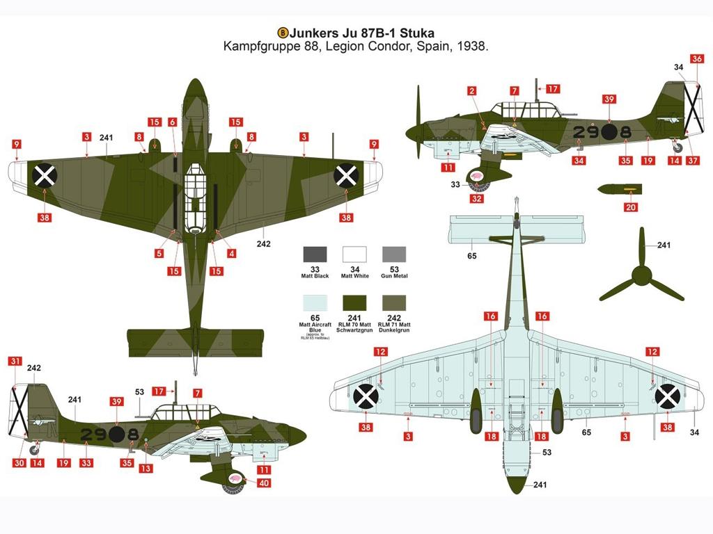 Junkers Ju87B-1 Stuka  (Vista 7)