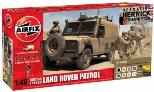 British Forces - Land Rover Patrol Gift