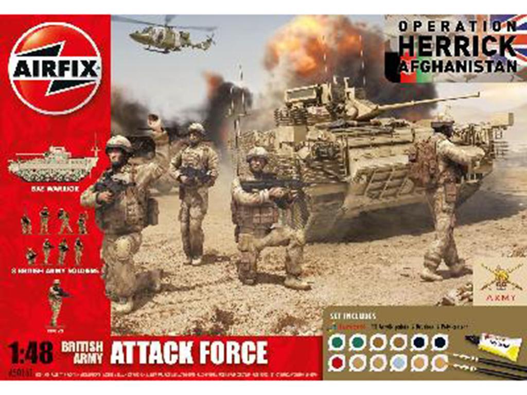 British Army Attack Force Gift Set  (Vista 1)