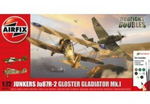 Junkers JU87R-2 Gloster Gladiator