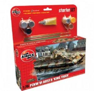 King Tiger Tank Starter Set  (Vista 1)