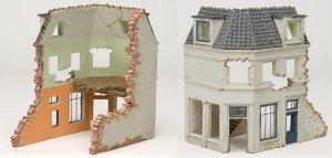 Casa de Europa en ruinas  (Vista 2)