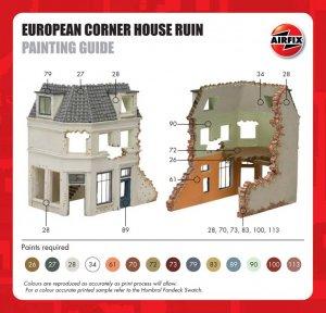 Casa de Europa en ruinas  (Vista 3)