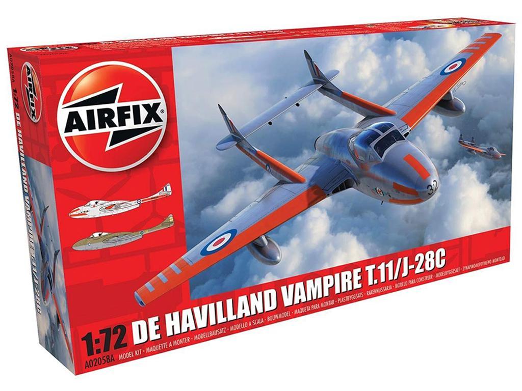 DeHavilland Vampire T.11 / J-28C (Vista 1)