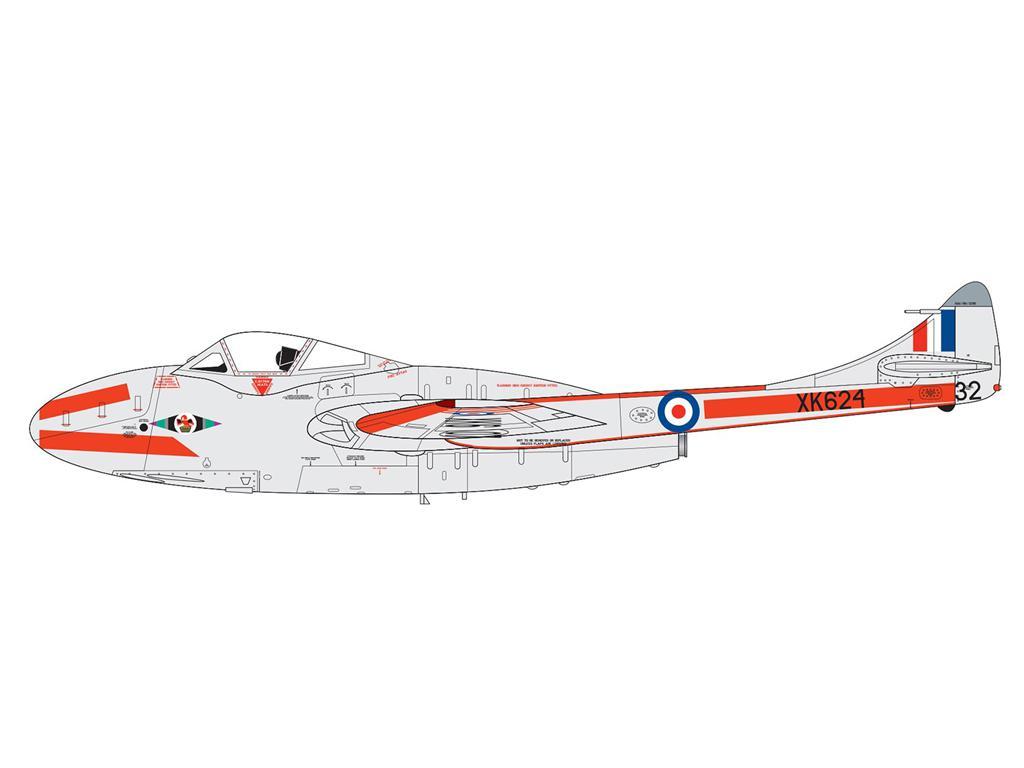 DeHavilland Vampire T.11 / J-28C (Vista 3)