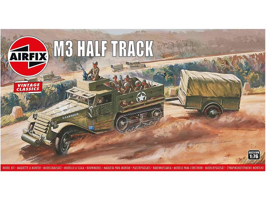 M3 Half Track e Ton Trailer (Vista 1)