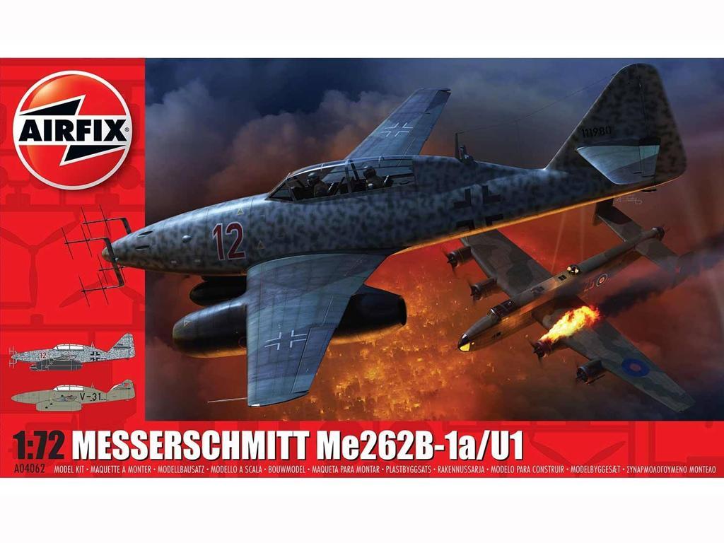 Messerschmitt Me 262B-1a (Vista 1)